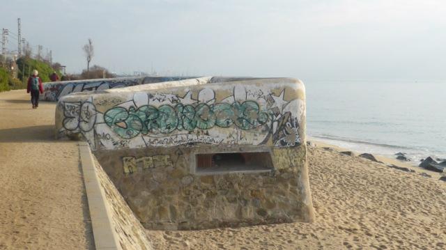 El Masnou. Búnquer platja Descàrrega