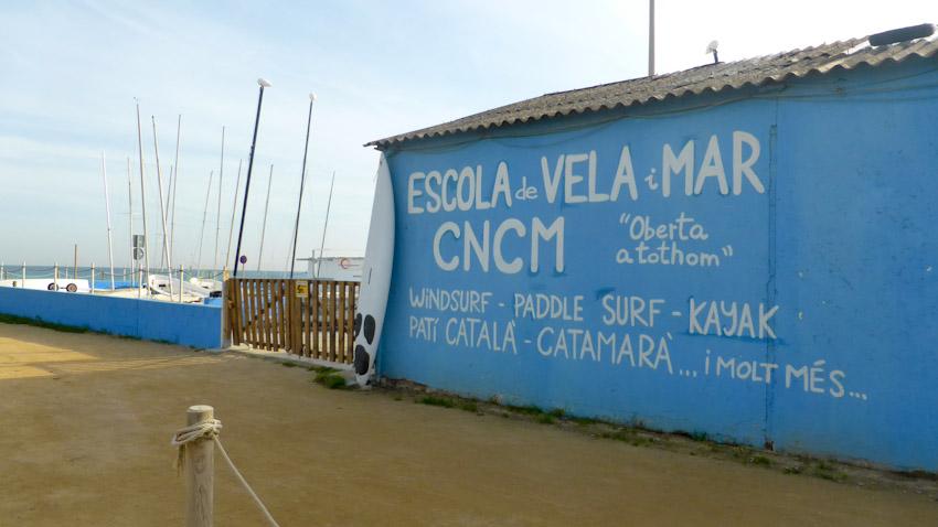 Escola de Vela. Cabrera de Mar
