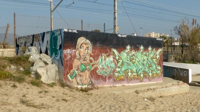 grafit platja premia maresme