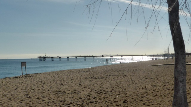 Pont del petroli. Badalona