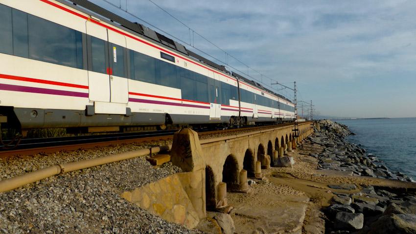 Tren línia Maresme, riera Argentona