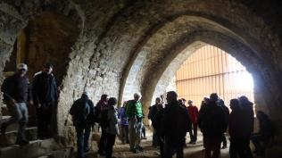 Sala gòtica castell Montsoriu. Foto: gloriacondal
