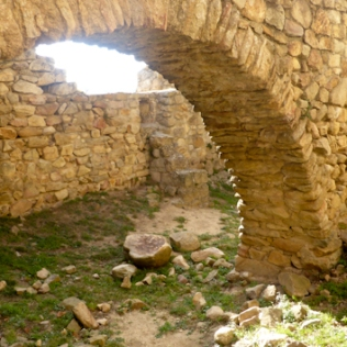 Castell Palafolls. Arcs. Foto: gloriacondal