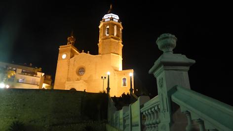 Sitges church