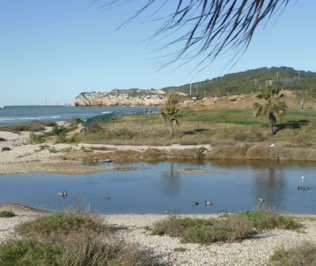 Vilanova i la Geltrú. Riera Ribas. Foto: gloriacondal