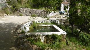Cisterna amb peixos. Esglesia Cosme i Damia Xios (Chios) Foto: gloriacondal