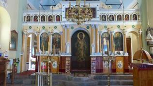 Interior església Cosme i Damià. Xios (Chios) Foto: gloriacondal