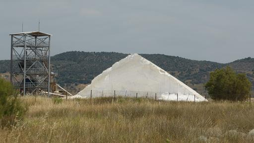 Salt pans Kalloni. Lesvos
