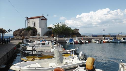 Skala Sikaminia Capella. Lesbos