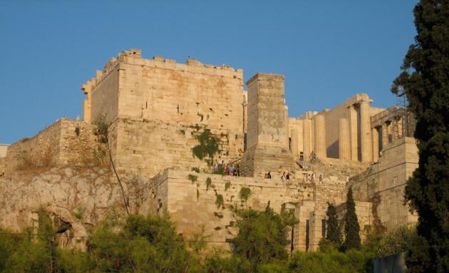 Acropolis des del Pnyx
