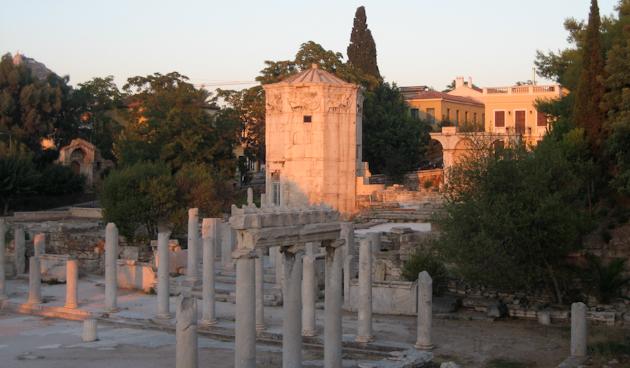 torre vents agora romana atenes