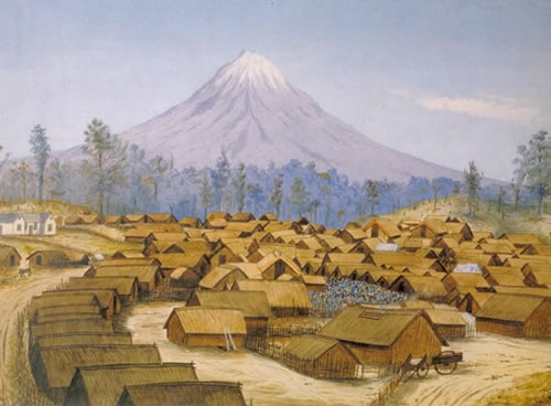 parihaka.nzhistory.net.nz.George Clarendon