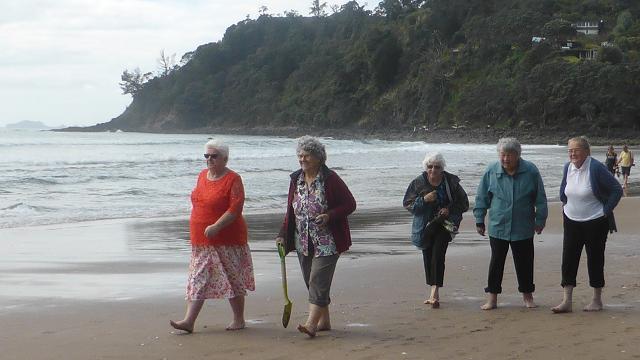 Hot Water Beach, New Zealanda