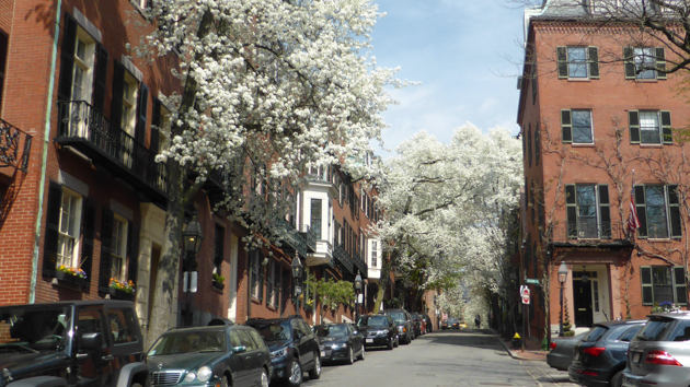 Boston. Beacon Hill