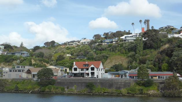 Nova Zelanda. Ciutat de Whanganui i riu