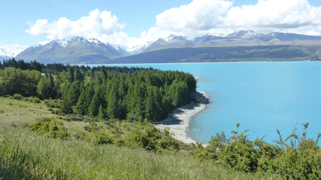 Llac Pukaki. NZ Foto: gloriacondal