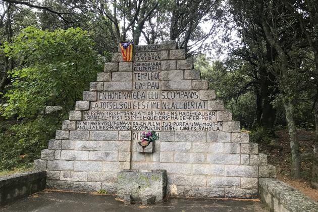 Les Illes. Monument a Companys