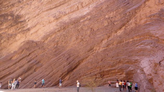 Anfiteatro. Quebrada Conchas