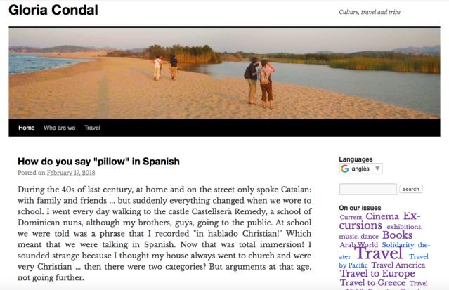 blog gloriacondal