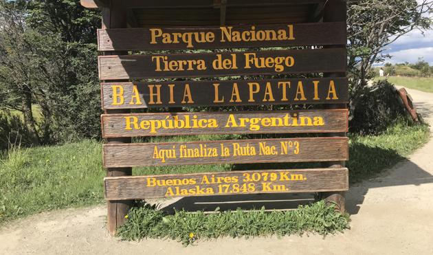 Badia Latapaia. PN Tierra de Fuego