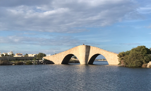 La Manga. Puente de la Risa