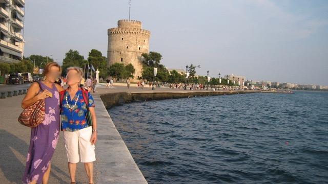 Salonica, torre blanca. Θεσαλονικη