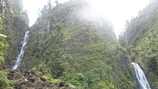 Trafalgar Falls. Dominica