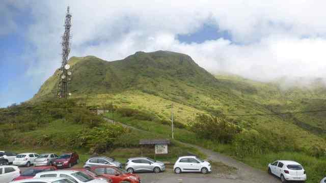 Mirador Aileron. Mont Pelée