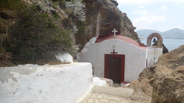 Capella Panagia Kavuradena. Leros