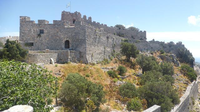 castell de Pandeli. Leros. Dodecanès
