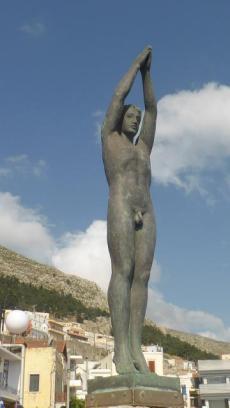 monument bus kalimnos