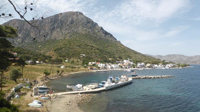 Port de Telenda. Grecia