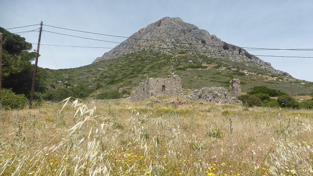 Punt més alt de l'illa de Telendos
