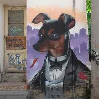 Murals a Atenes. Alex Martinez