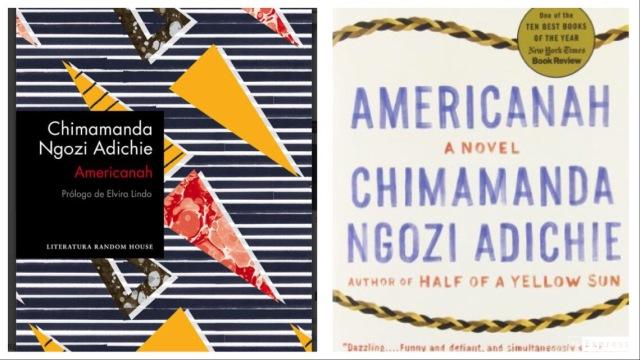 Americanah portades llibres