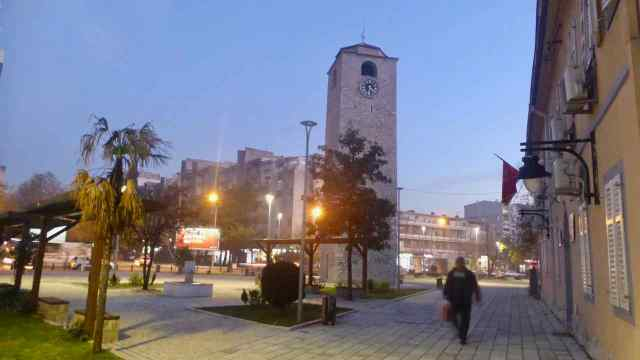 Podgorica. Torre Rellotge